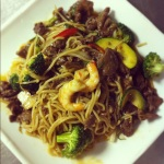 Shanghai Udon Noodle with Beef